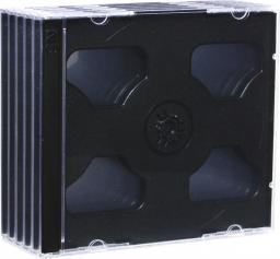 Esperanza Pudełko Na 2 CD JEWEL BLACK TRAY PAK 5 SZT. - 3019