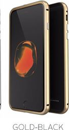 Luphie Etui Luphie Glass Bumper Apple iPhone 7 Plus-Gold-Black