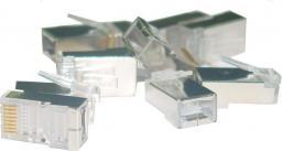 Assmann Wtyk RJ45 kat.6 ekranowany uniwersalny 8P8C 100szt X-ML-6F-IMP