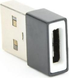 Adapter AV Gembird Adapter USB-A 2.0 męski do USB-C żeński (A-USB2-AMCF-01)