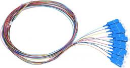 ExtraLink Pigtaile zestaw 12-kolorów SC/UPC (EX.0356)