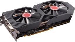 Karta graficzna XFX RX 580 8GB GTR Black Edition Crimson 1386/8100 (3x DP HDMI DVI) (RX-580P8DBRR)