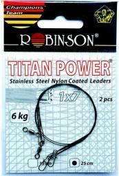 Robinson Przypony stalowe 25cm/15kg, 2szt. (80-S15-25)