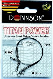 Robinson Przypony stalowe 35cm/9kg, 2szt. (80-S09-35)