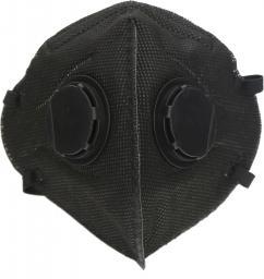 Maska antysmogowa Platinet Maska Antysmogowa Omega czarna (44337)