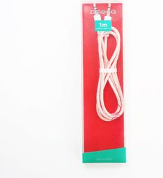 Kabel Platinet Minijack 3.5 - Minijack 3.5 1m Różowy