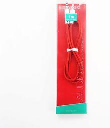 Kabel Platinet Minijack 3.5 - Minijack 3.5 1m Czerwony