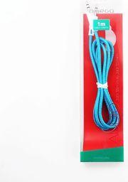 Kabel Platinet MiniJack 3.5 mm - MiniJack 3.5 mm, 1, Niebieski