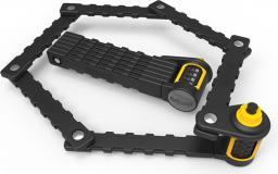 ONGUARD Zapięcie rowerowe Link Plate Lock K9 Combo 8116C żółto-czarne (ONG-8116C)