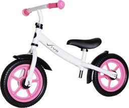 """VIVO Rowerek biegowy Vivo V4.0 12"""" EVA white/pink rjx"""
