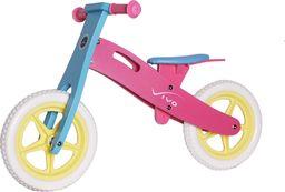 """VIVO Rowerek biegowy Vivo V1.0 12"""" EVA pink/blue rjx"""