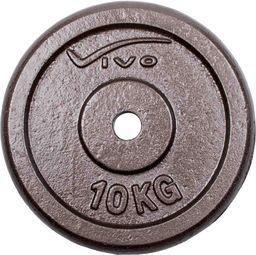 VIVO Obciążenie żeliwne czarne 10 kg (4561806)