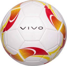 VIVO Piłka Nożna Vivo Ground 5 Biało/Czerwona/Żółta Rjx