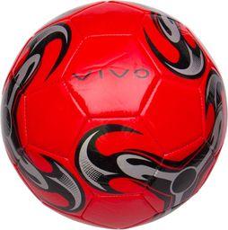 VIVO Piłka Nożna Vivo Shine 5 Czerwono/Czarna Rjx