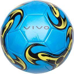 VIVO Piłka Nożna Vivo Shine 5 Niebieski/Żółty Rjx