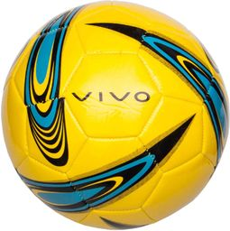 VIVO Piłka Nożna Vivo Shape 5 Żółto/Niebieska Rjx