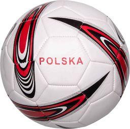 VIVO Piłka Nożna Polska 5 Biało/Czerwona Rjx