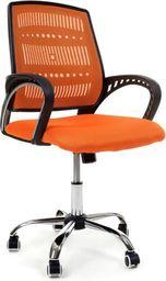 IMAGGIO Fotel biurowy PALERMO pomarańczowy