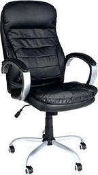 IMAGGIO Fotel biurowy VIP MASSERANO czarny + gratis !