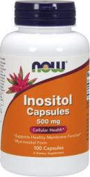 NOW Foods Inositol 500mg 100 kaps.