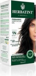 Herbatint  Naturalna Trwała Farba do Włosów Seria N Naturalna nr 1N - Czarny