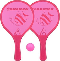 Waimea BEACH PADDLE SET ANIMAL PINK