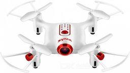 Dron Syma Syma X20W (2.4GHz, kamera FPV WiFi, żyroskop, zasięg do 20m) - Biały