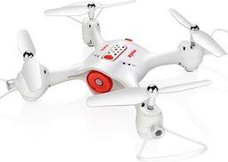 Dron Syma Syma X23W (kamera FPV WiFi, 2.4GHz, żyroskop, auto-start, zawis, zasięg do 25m) - Biały
