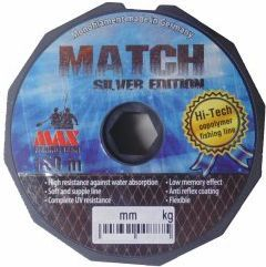 Max Fishing Tackle Żyłka Silver Edition Match 0.25mm, 150m (1703025)