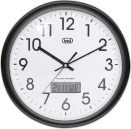 Trevi Zegar ścienny OM 3309 30 CM Czarny