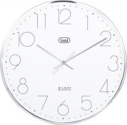 Trevi Zegar ścienny Trevi OM 3512 S 30 CM silver