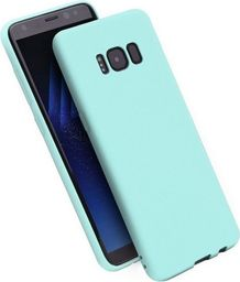 Etui Candy iPhone X niebieski/blue
