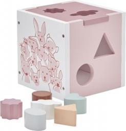 Kids Concept Edvin Sorter Drewniany Różowy (1000133)