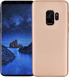 Etui Carbon Fiber Samsung S9 G960 złoty /gold