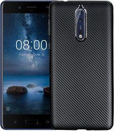 Etui Carbon Fiber Nokia 8 czarny/black