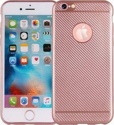 Etui Carbon Fiber iPhone 6 różowo-złoty /rosegold