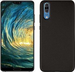 Etui Carbon Fiber Huawei P20 czarny /black