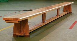 Polsport Ławka gimnastyczna drewniana 2.50m (Ł0153)