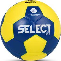 Select Piłka ręczna Foam Kids IV mini żółto-granatowa r. 0 (14146)