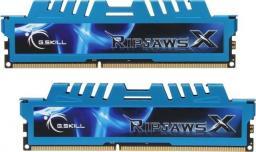 Pamięć G.Skill RipjawsX, DDR3, 8 GB,2133MHz, CL9 (F3-17000CL9D-8GBXM)