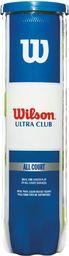 Wilson Piłki do Tenisa Ziemnego Ultra Club 4 szt