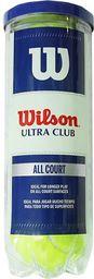 Wilson Piłki do Tenisa Ziemnego Ultra Club 3 szt