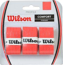 Wilson Owijka Profile Over Grip 3szt. czerwona (WRZ4025RD )