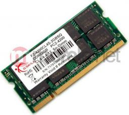 Pamięć do laptopa G.Skill DDR2 SODIMM 2GB 800MHz CL5 (F2-6400CL5S-2GBSQ)
