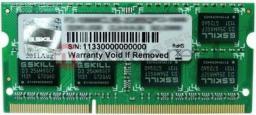 Pamięć do laptopa G.Skill F3-12800CL11S-4GBSQ
