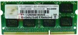 Pamięć do laptopa G.Skill DDR3 SODIMM 8GB 1333MHz CL9 (F3-10666CL9S-8GBSQ)