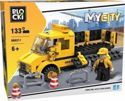 Blocki Klocki MyCity 133 Elementy Roboty Drogowe