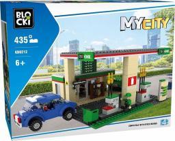 Blocki Klocki MyCity 435 Elementów Stacja Benzynowa