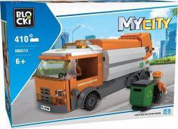 Blocki Klocki MyCity 410 Elementów Śmieciarka