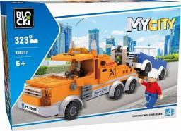 Blocki Klocki MyCity 323 Elementy Pomoc Drogowa